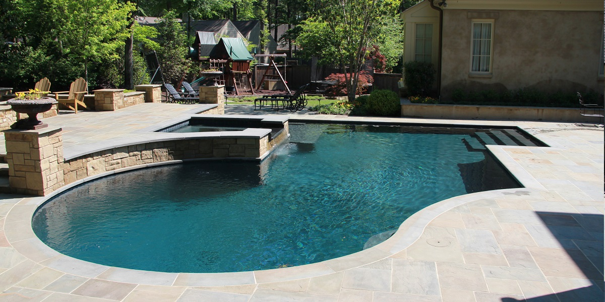 Ogden Pools - Custom Swimming Pool Builder • Gunite Pools in Memphis ...