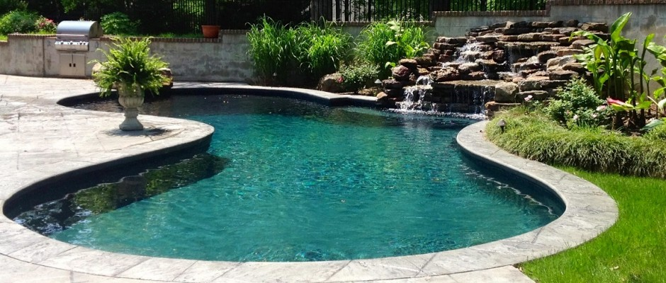 Ogden pools custom swimming pool builder gunite pools - Swimming pool companies in memphis tn ...